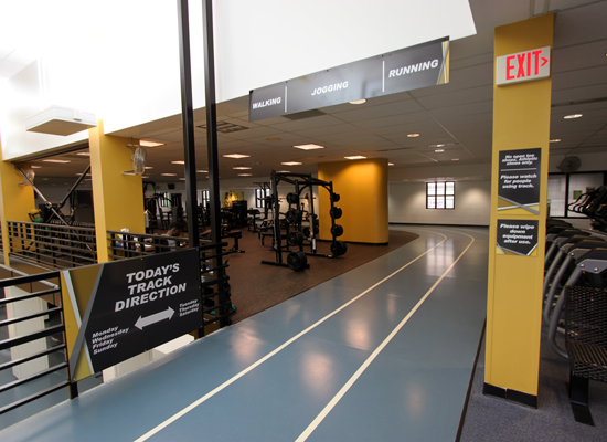 Aggie Rec Center interior